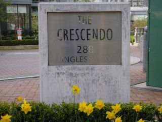 "Photo 1: 604 288 UNGLESS Way in Port Moody: North Shore Pt Moody Condo for sale in ""CRESCENDO"" : MLS®# R2076457"