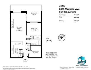 Photo 9: 113 2368 MARPOLE Avenue in Port Coquitlam: Central Pt Coquitlam Condo for sale : MLS®# R2273567