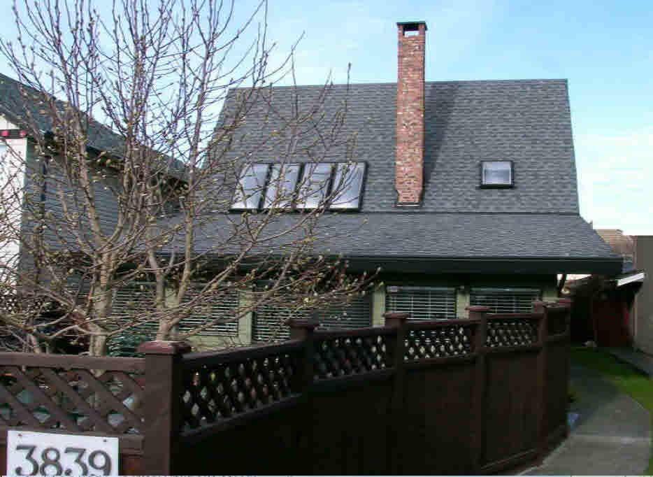 Main Photo: 3839 RICHMOND STREET in : Steveston Village House for sale : MLS®# V686996