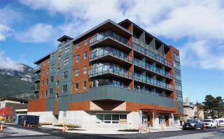"""Photo 1: 610 38013 THIRD Avenue in Squamish: Downtown SQ Condo for sale in """"THE LAUREN"""" : MLS®# R2476208"""