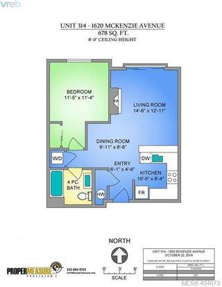 Photo 21: 314 1620 McKenzie Ave in VICTORIA: SE Lambrick Park Condo for sale (Saanich East)  : MLS®# 804123