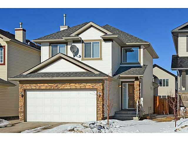 Main Photo: 249 BRIDLEMEADOWS Common SW in CALGARY: Bridlewood Residential Detached Single Family for sale (Calgary)  : MLS®# C3601900