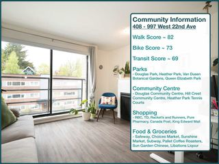 """Photo 19: 408 997 W 22ND Avenue in Vancouver: Cambie Condo for sale in """"THE CRESCENT IN SHAUGHNESSY"""" (Vancouver West)  : MLS®# R2585378"""