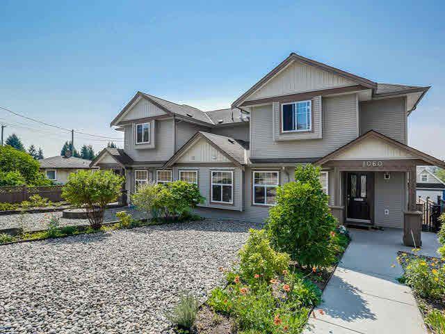 Main Photo: 1060 QUADLING AVENUE in : Maillardville 1/2 Duplex for sale : MLS®# V1139275