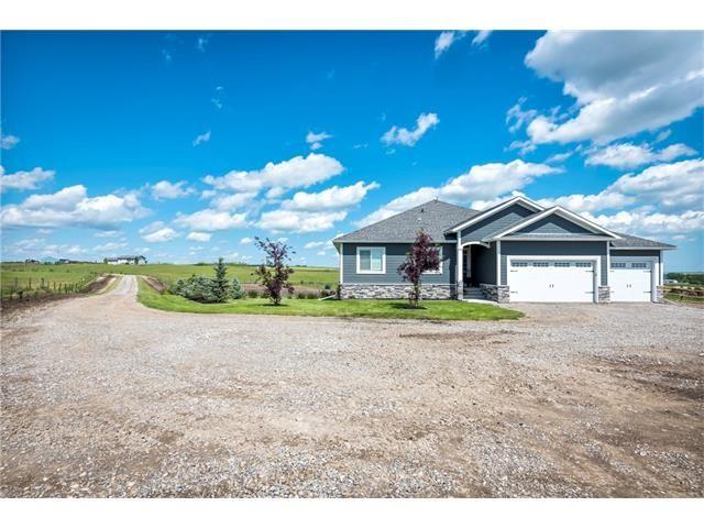 Main Photo: 80049 312 Avenue E: Rural Foothills M.D. House for sale : MLS®# C4096639