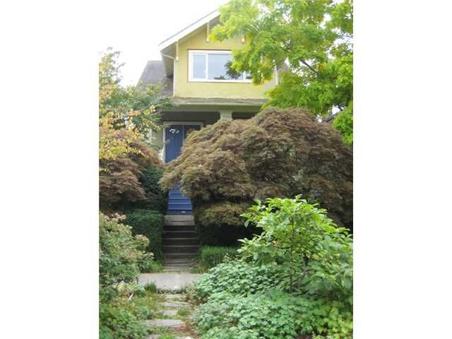 """Main Photo: 122 W 20TH Avenue in Vancouver: Cambie House for sale in """"CAMBIE VILLAGE"""" (Vancouver West)  : MLS®# V851048"""