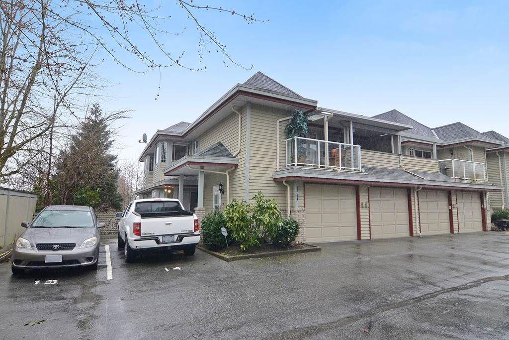 "Main Photo: 13 11502 BURNETT Street in Maple Ridge: East Central Townhouse for sale in ""TELOSKY VILLAGE"" : MLS®# R2146423"