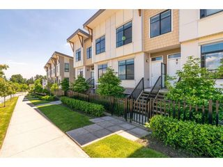 """Photo 1: 101 9989 E BARNSTON Drive in Surrey: Fraser Heights Townhouse for sale in """"Highcrest at Fraser Heights"""" (North Surrey)  : MLS®# R2371201"""