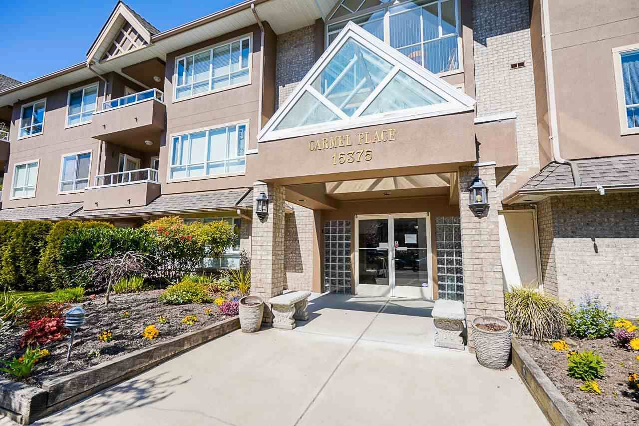 """Main Photo: 207 15375 17TH Avenue in Surrey: King George Corridor Condo for sale in """"CARMEL PLACE"""" (South Surrey White Rock)  : MLS®# R2564835"""