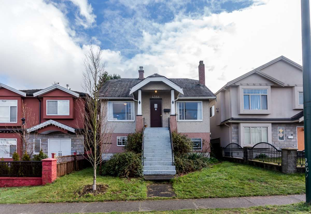 Main Photo: 4358 VICTORIA Drive in Vancouver: Victoria VE House for sale (Vancouver East)  : MLS®# R2037719