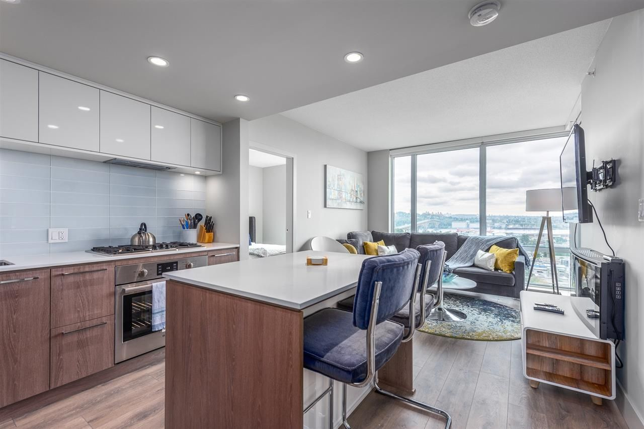"""Main Photo: 2305 680 SEYLYNN Crescent in North Vancouver: Lynnmour Condo for sale in """"Compass"""" : MLS®# R2409180"""