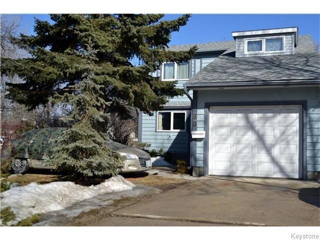 Main Photo: 88 Greensboro Square in Winnipeg: Fort Garry / Whyte Ridge / St Norbert Residential for sale (South Winnipeg)  : MLS®# 1605626