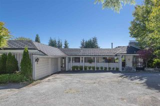 Photo 1: 690 KNOCKMAROON Road in West Vancouver: British Properties House for sale : MLS®# R2543446