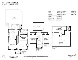 """Photo 2: 1613 SEVENTH Avenue in New Westminster: West End NW House for sale in """"West End"""" : MLS®# R2579061"""
