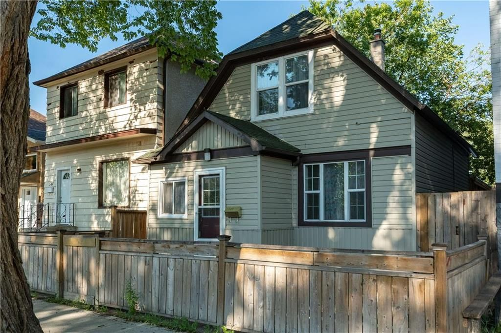 Main Photo: 509 Victor Street in Winnipeg: West End Residential for sale (5A)  : MLS®# 202117860
