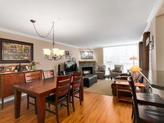 "Photo 2: 212 8450 JELLICOE Street in Vancouver: Fraserview VE Condo for sale in ""Boardwalk"" (Vancouver East)  : MLS®# R2037508"