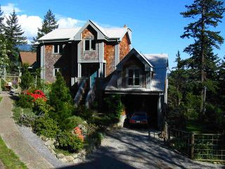 """Main Photo: 342 CREEK Road: Bowen Island House for sale in """"EAGLE CLIFF"""" : MLS®# R2025478"""