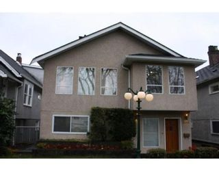 Photo 1: 3058 West 12th Avenue in Vancouver: Kitsilano VW Multifamily for sale ()  : MLS®# V921038