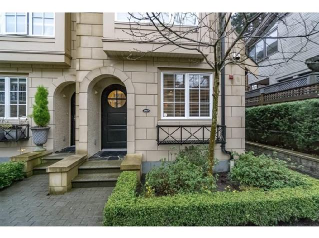 Main Photo: 2957 Laurel Street in Vancouver: Fairview VW Townhouse for sale (Vancouver West)  : MLS®# R2153422