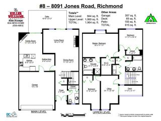 "Photo 17: # 8 8091 JONES RD in Richmond: Brighouse South Townhouse for sale in ""LEIGHTON COURT"" : MLS®# V1012740"