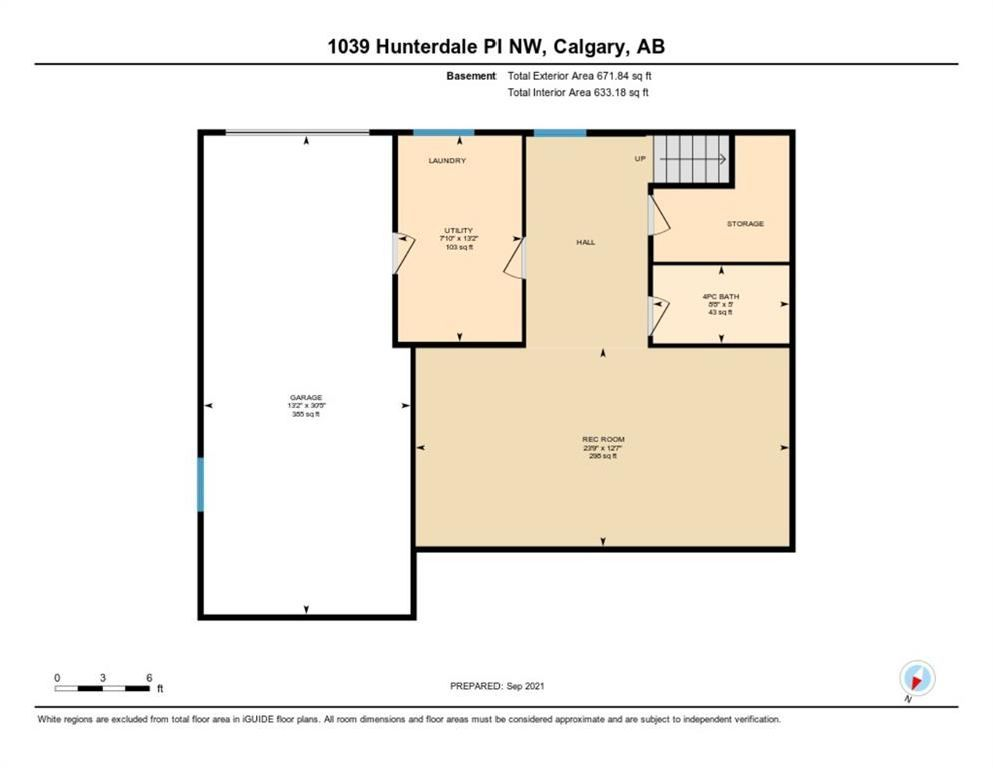 Photo 35: Photos: 1039 Hunterdale Place NW in Calgary: Huntington Hills Detached for sale : MLS®# A1144126
