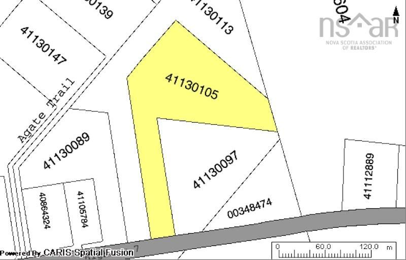 Main Photo: 100 Agate Trail in Gaetz Brook: 31-Lawrencetown, Lake Echo, Porters Lake Vacant Land for sale (Halifax-Dartmouth)  : MLS®# 202125112