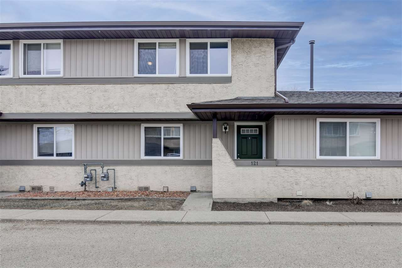 Main Photo: 121 8930-99 Avenue: Fort Saskatchewan Townhouse for sale : MLS®# E4236779