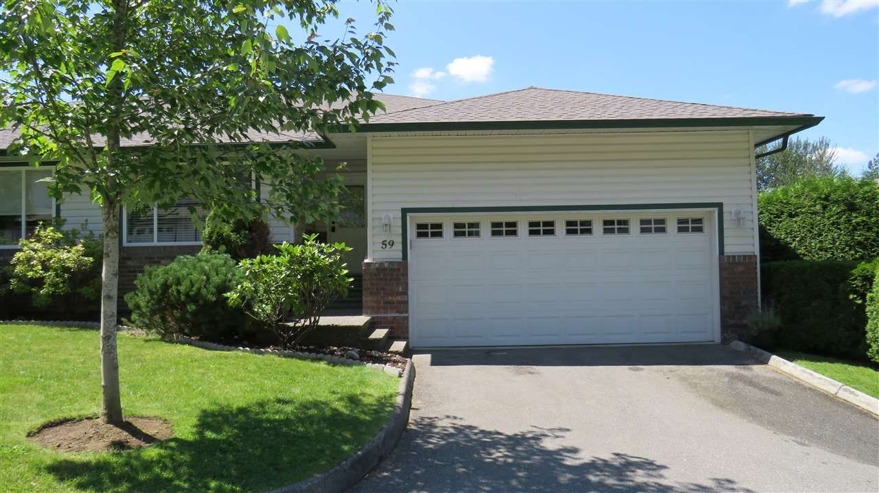 """Main Photo: 59 34250 HAZELWOOD Avenue in Abbotsford: Abbotsford East Townhouse for sale in """"Still Creek"""" : MLS®# R2505152"""