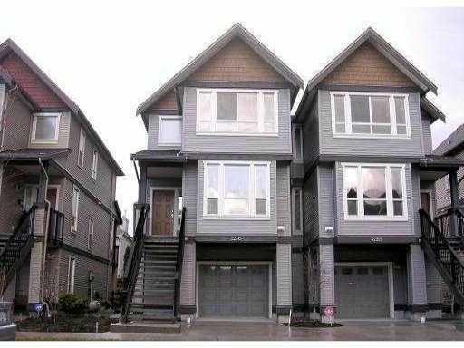 Main Photo: 22315 SHARPE Avenue in Richmond: Hamilton RI 1/2 Duplex for sale : MLS®# V843358