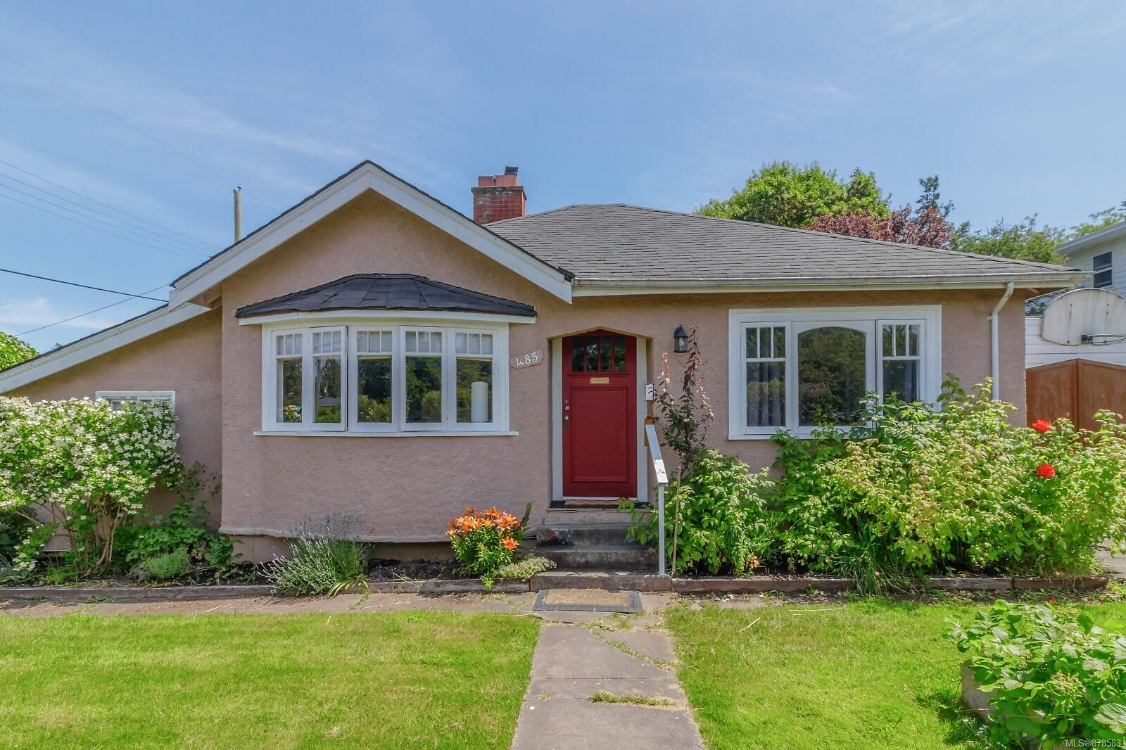 Main Photo: 485 Marigold Rd in : SW Marigold House for sale (Saanich West)  : MLS®# 878583