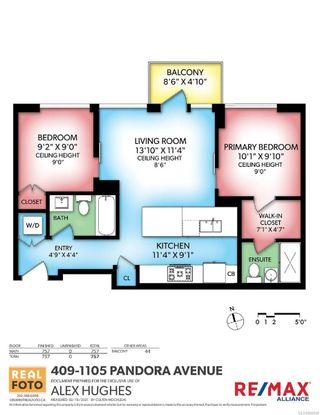 Photo 23: N408 1105 Pandora Ave in : Vi Downtown Condo for sale (Victoria)  : MLS®# 866698