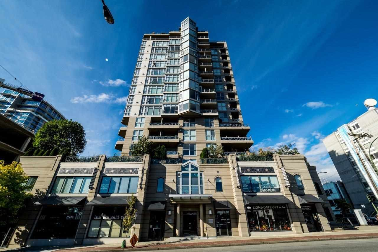 Main Photo: 601 160 E 13TH STREET in North Vancouver: Central Lonsdale Condo for sale : MLS®# R2105266