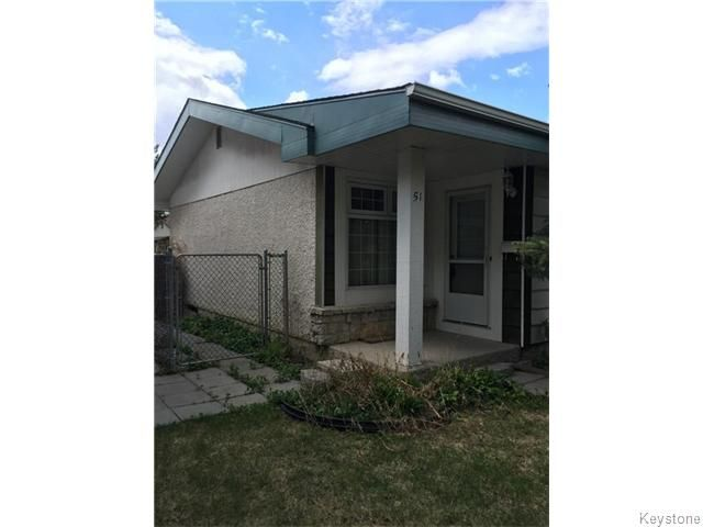 Main Photo: 51 Berard Way in Winnipeg: Fort Garry / Whyte Ridge / St Norbert Residential for sale (South Winnipeg)  : MLS®# 1612697