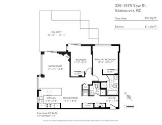"""Photo 29: 326 1979 YEW Street in Vancouver: Kitsilano Condo for sale in """"CAPERS"""" (Vancouver West)  : MLS®# R2566048"""