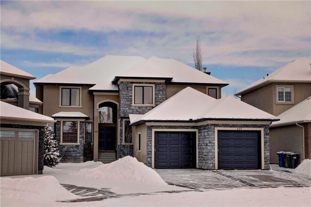 Main Photo: 115 WESTRIDGE Crescent SW in Calgary: West Springs Detached for sale : MLS®# C4226155