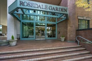 "Photo 2: 401 888 HAMILTON Street in Vancouver: Downtown VW Condo for sale in ""ROSEDALE GARDEN"" (Vancouver West)  : MLS®# R2215482"