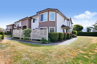 """Photo 1: 1 46350 CESSNA Drive in Chilliwack: Chilliwack E Young-Yale Townhouse for sale in """"Hamley Estates"""" : MLS®# R2606348"""