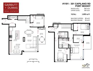 """Photo 33: 1101 301 CAPILANO Road in Port Moody: Port Moody Centre Condo for sale in """"The Residences at Suter Brook"""" : MLS®# R2578604"""