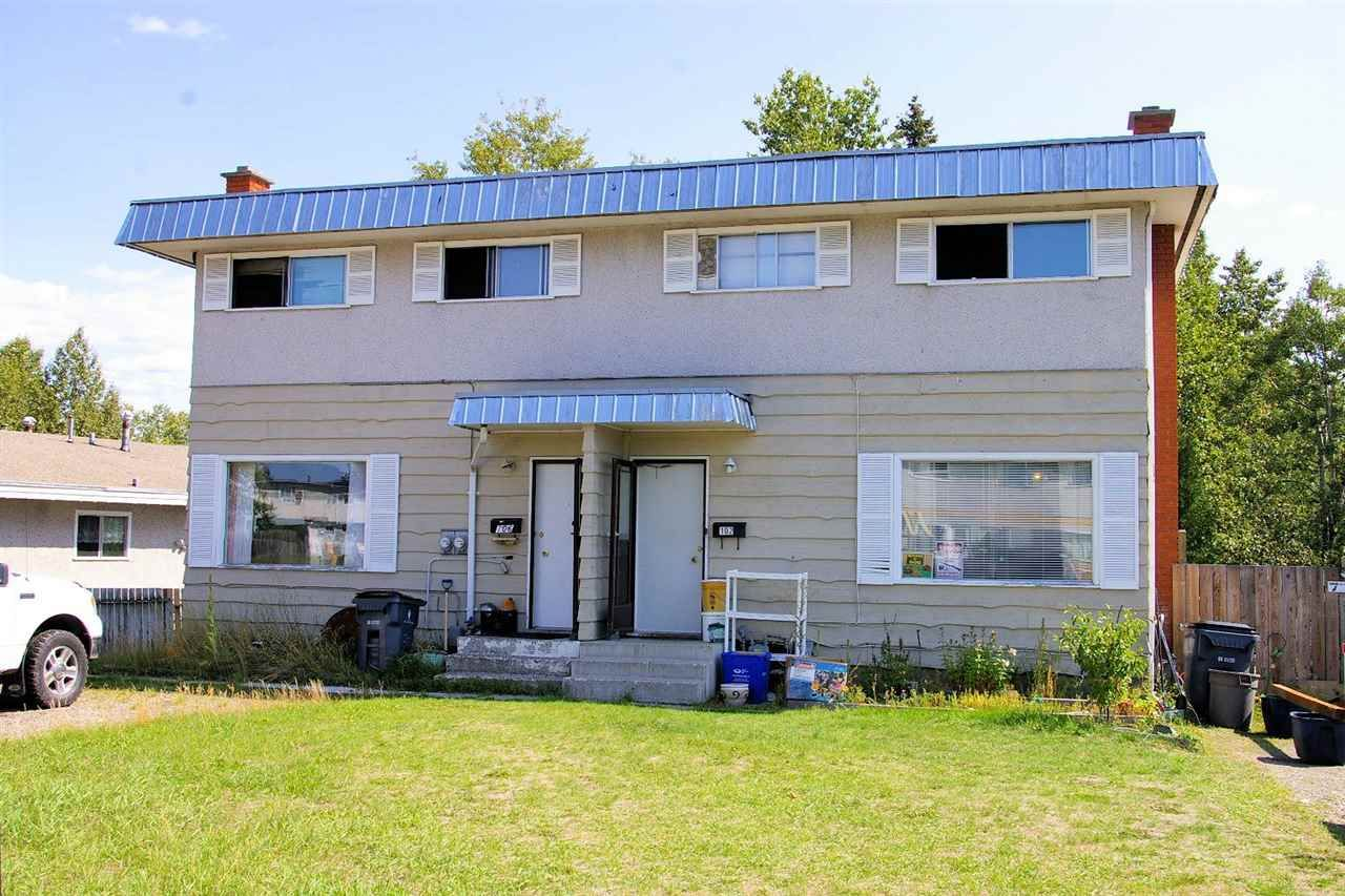 Main Photo: 102 - 106 MCLEAN Drive in Prince George: Highland Park Duplex for sale (PG City West (Zone 71))  : MLS®# R2090549