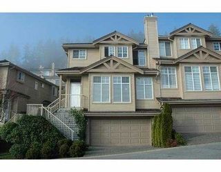 "Photo 1: 124 2979 PANORAMA DR in Coquitlam: Westwood Plateau Townhouse for sale in ""DEERCREST ESTATES"" : MLS®# V566893"