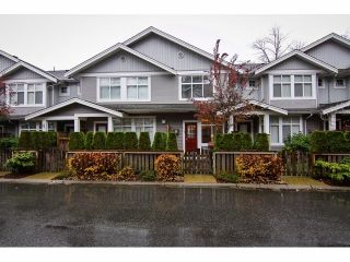 """Photo 1: 109 20449 66TH Avenue in Langley: Willoughby Heights Townhouse for sale in """"NATURE'S LANDING"""" : MLS®# F1325755"""