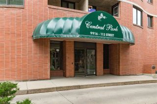 Photo 1: 1403 9916 113 Street NW in Edmonton: Zone 12 Condo for sale : MLS®# E4261317