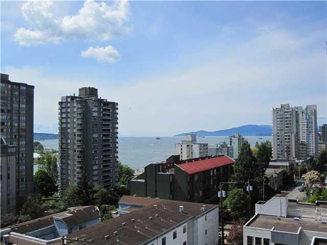 Main Photo: 708 1100 HARWOOD STREET in : West End VW Condo for sale : MLS®# V845059