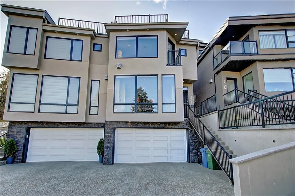 Main Photo: 2003 28 Avenue SW in Calgary: South Calgary Semi Detached for sale : MLS®# A1119479