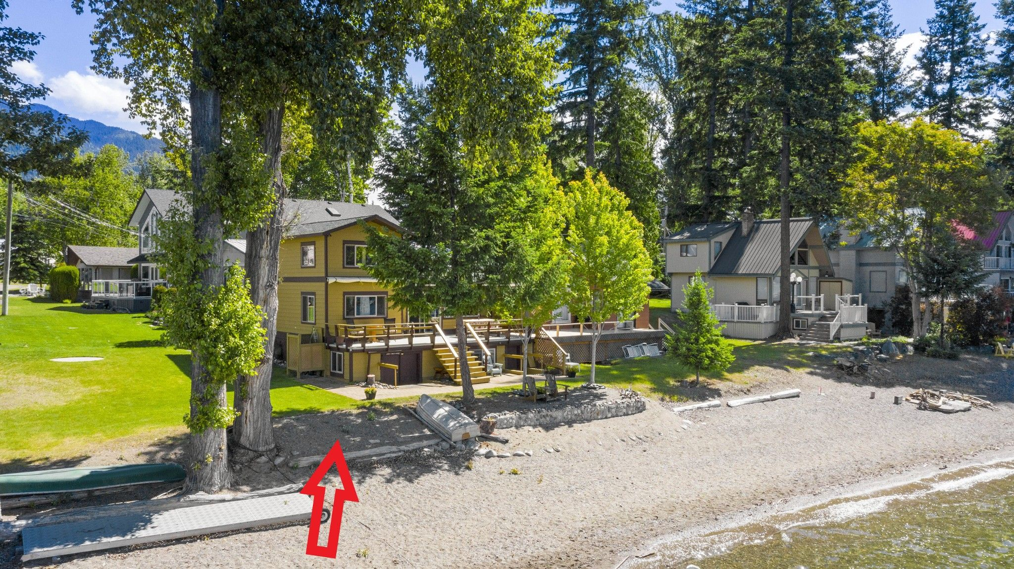 Main Photo: 1 6942 Squilax-Anglemont Road: MAGNA BAY House for sale (NORTH SHUSWAP)  : MLS®# 10233659