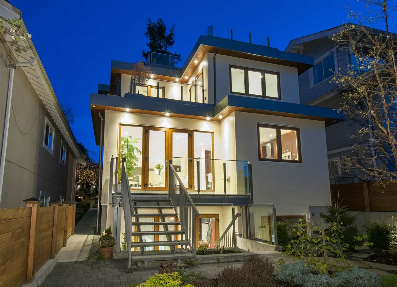 Main Photo: 4469 W 7TH AVENUE in : Point Grey House for sale : MLS®# R2055257