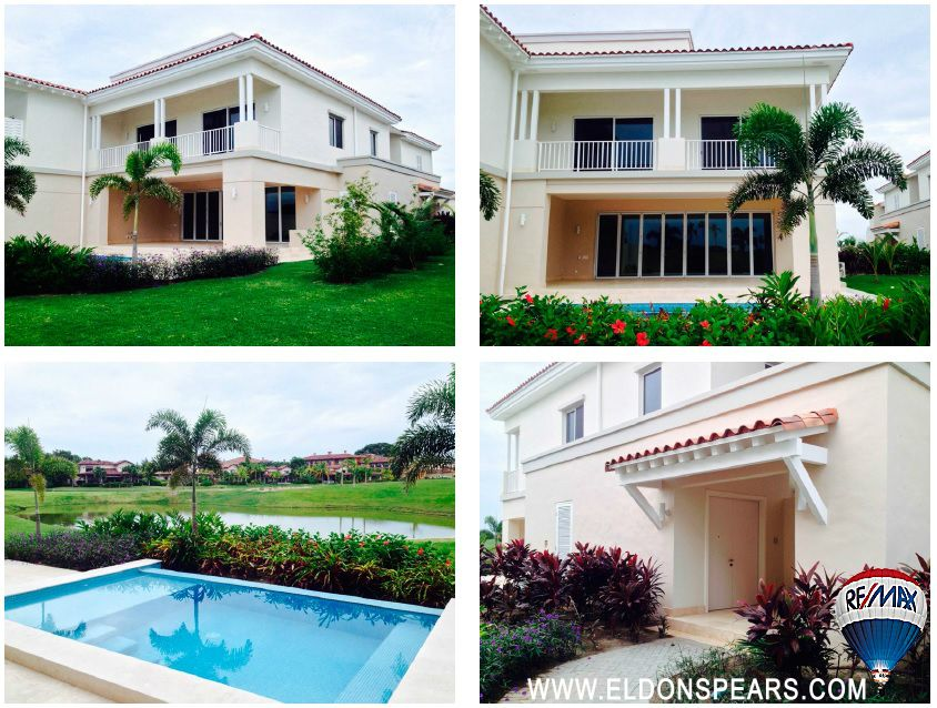 Villa for sale in Beunaventura - front and back with private pool