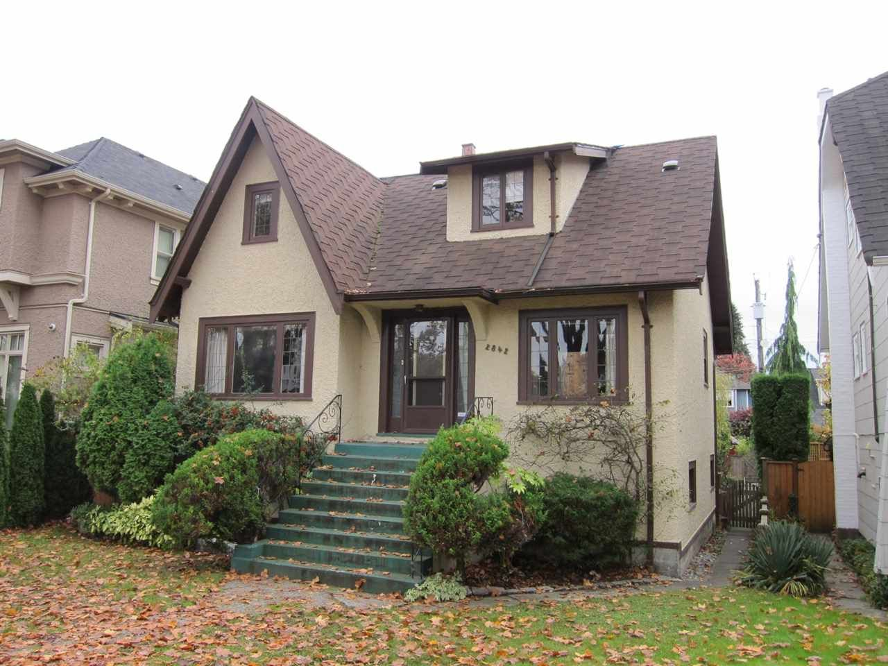 Main Photo: 2842 W 15TH Avenue in Vancouver: Kitsilano House for sale (Vancouver West)  : MLS®# R2016569