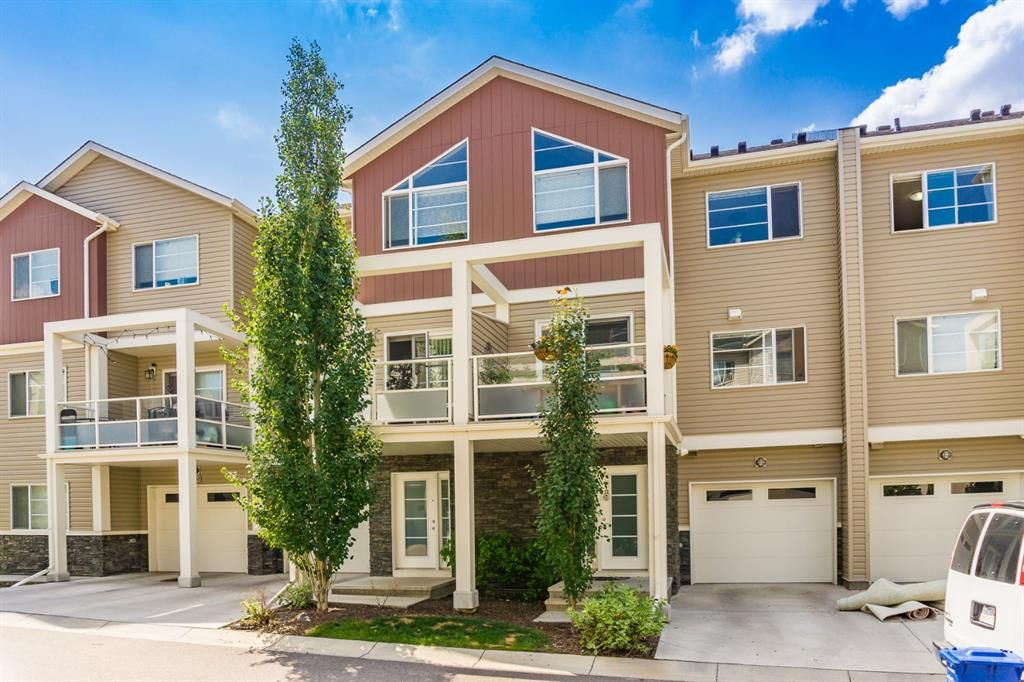 Main Photo: 308 Redstone View NE in Calgary: Redstone Row/Townhouse for sale : MLS®# A1130572