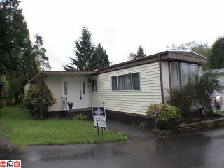 """Photo 2: 93 24330 FRASER Highway in Langley: Otter District Manufactured Home for sale in """"Langley Grove estates"""" : MLS®# F1112607"""